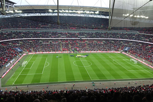 Tottenham - Manchester City på Wembley Stadium